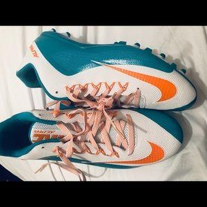 NEW Nike Football Cleats Alpha Pro Miami Dolphins